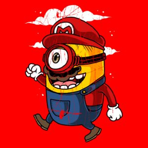 Super Minion- Desgastado