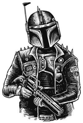 Star Wars Boba Punk