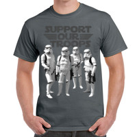 Camiseta Star Wars - Support Our Trops