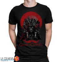Camiseta - Game of Thrones - Game of Clones