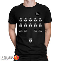 1349-Camiseta Space Wars (Karlangas)